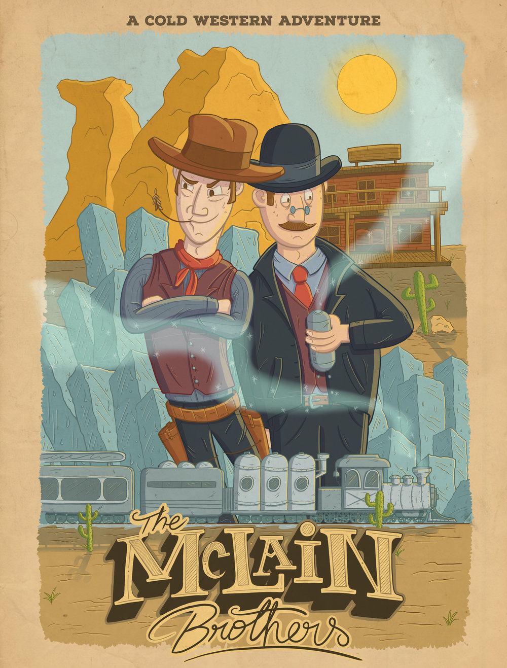 THE MCLAIN BROTHERS POSTER
