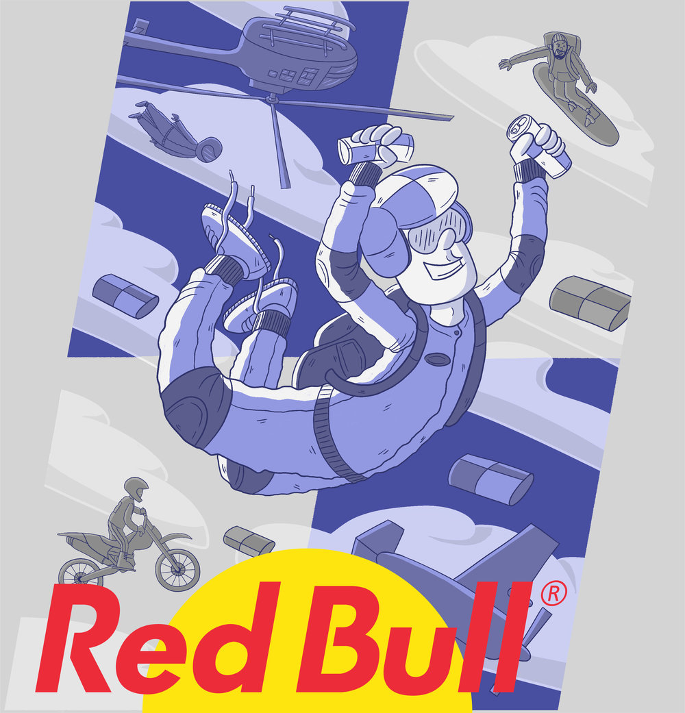 RED BULL PACKAGE DESIGN
