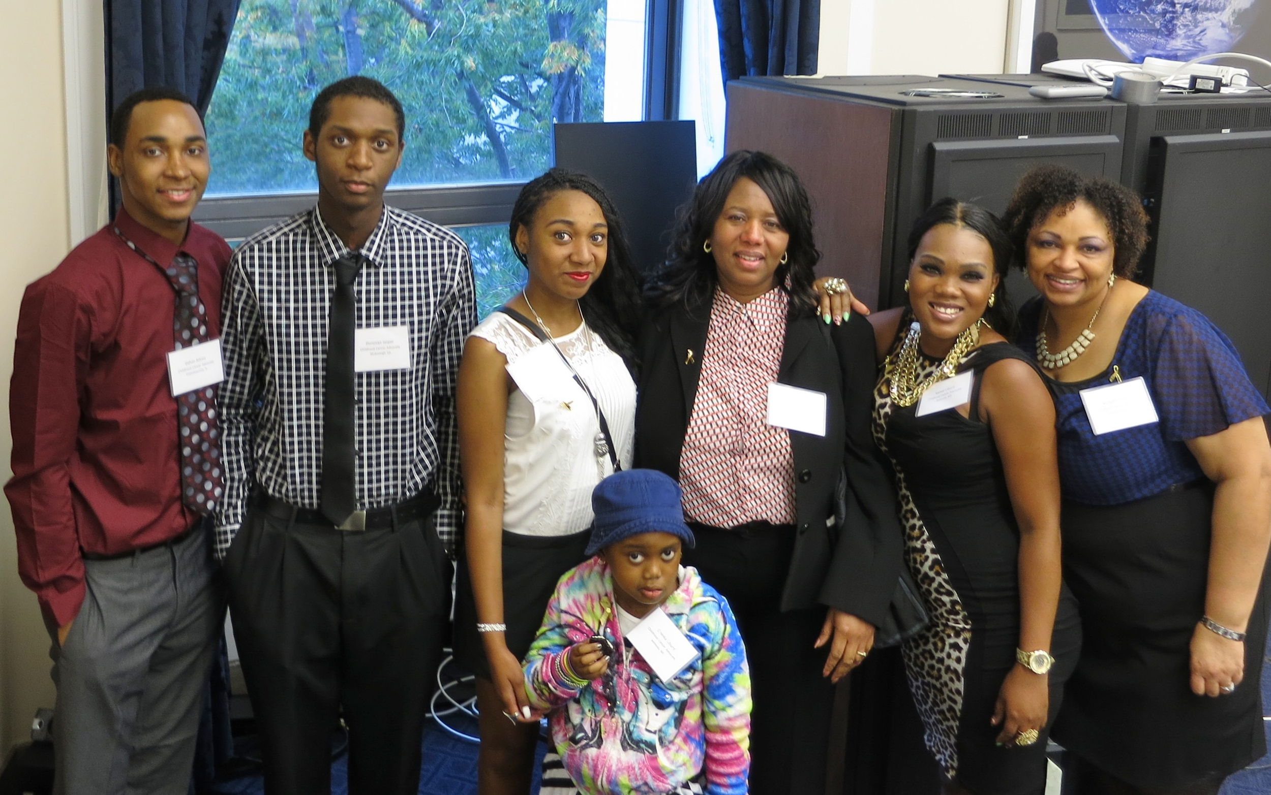 We were honored to be joined by three families currently staying at the NIH Children's Inn.