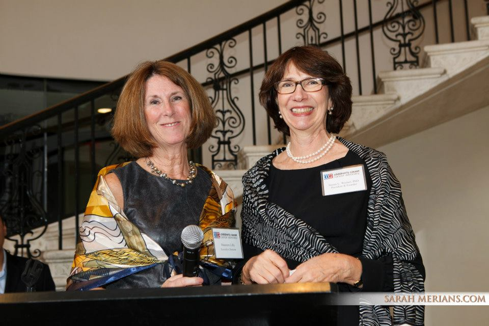 CCCA's Executive Director Maureen Lilly & President Susan Weiner at last year's NYC event.