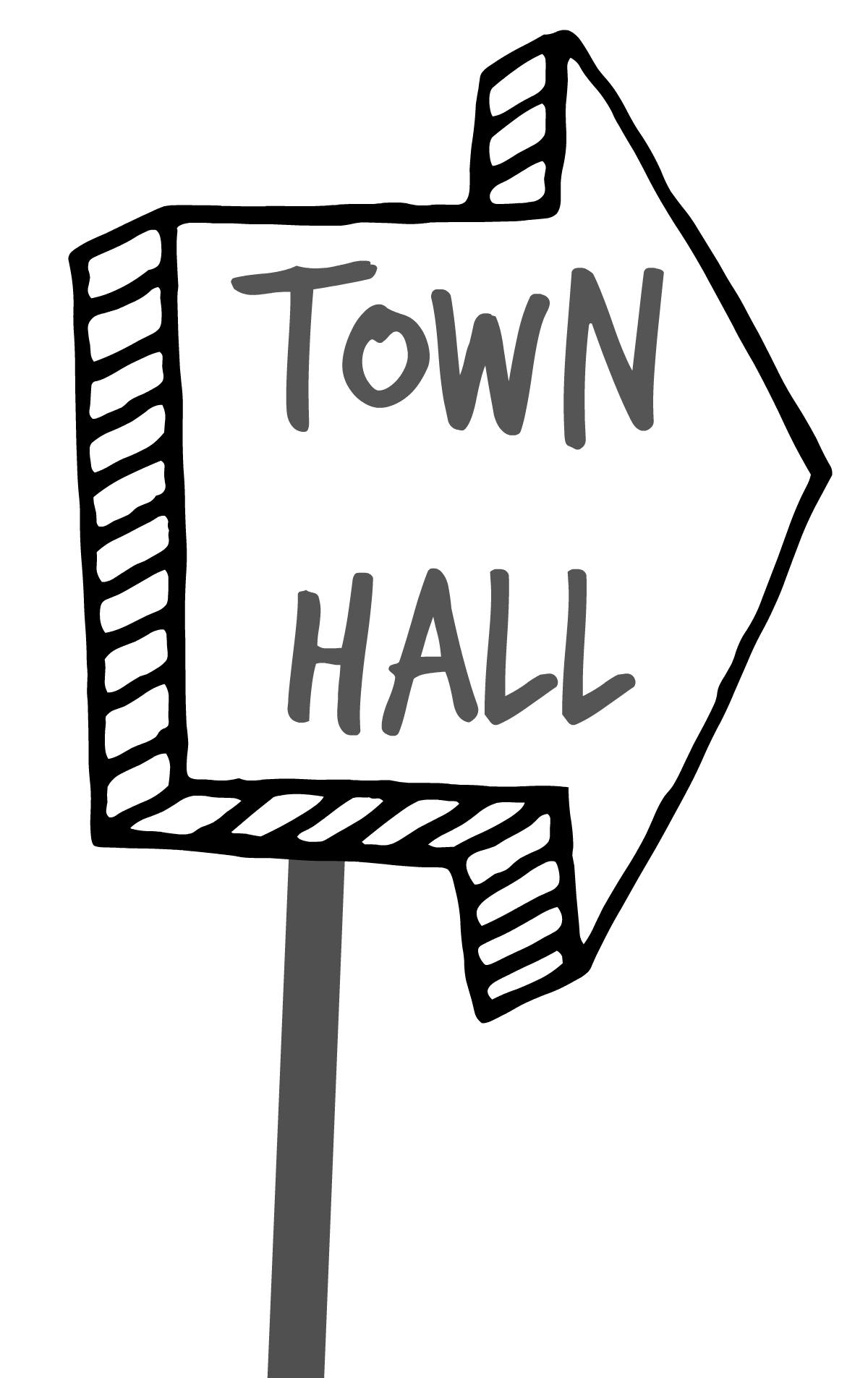 townhallsign
