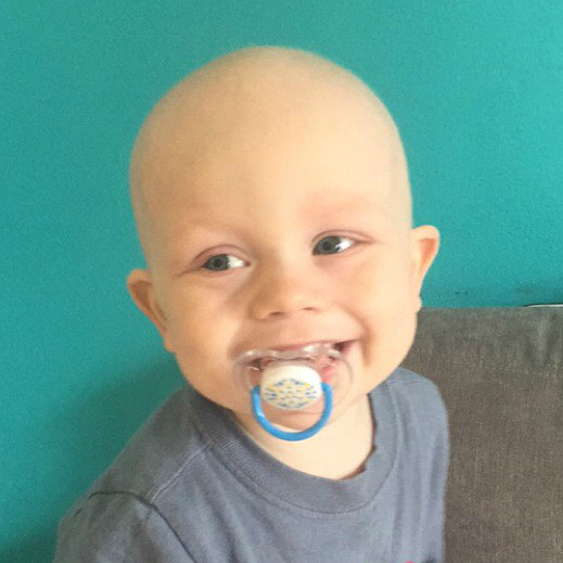 Liam, childhood cancer survivor