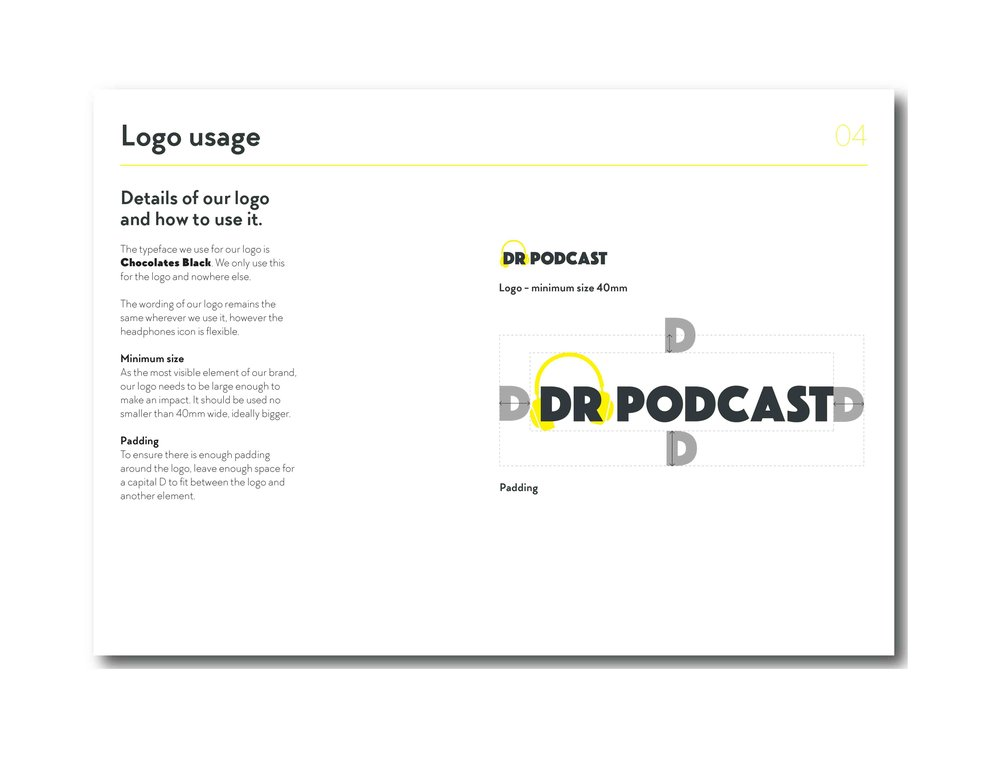 Brand guidelines / Logo usage