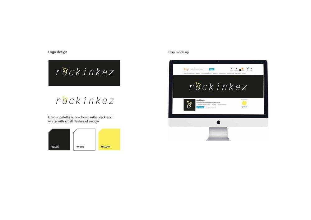 Rockin Kez / Concept sheet