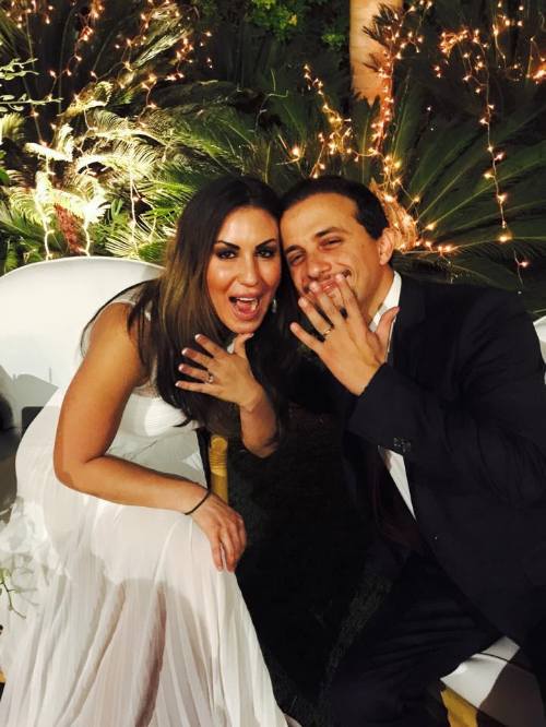 Nora and husband, Omar Helmy El Wassimy.