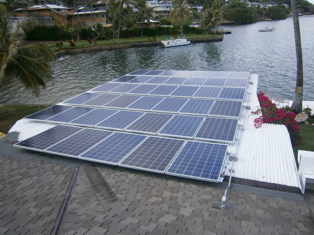 Private Residential PV Installation