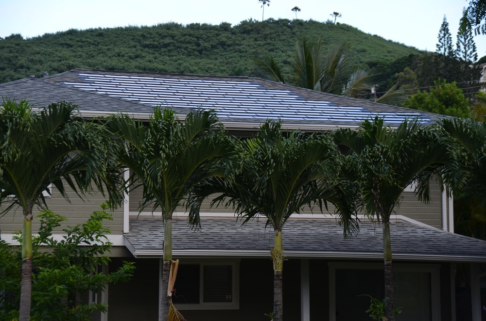 DOW Solar Shingle Installation