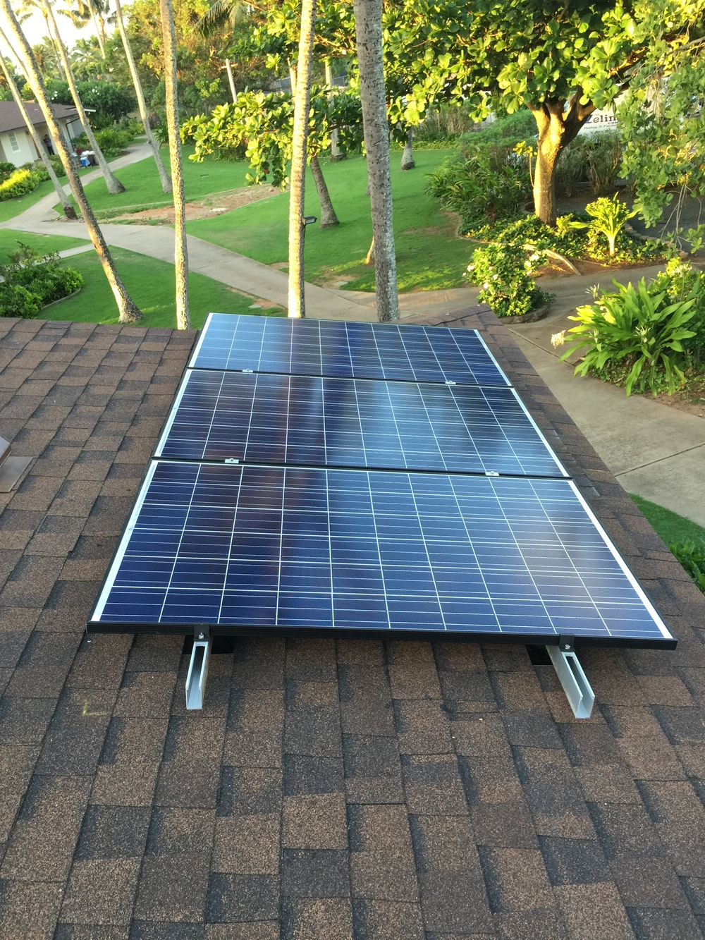 North shore bungalows | LEZETi Install | Rooftop PV Install