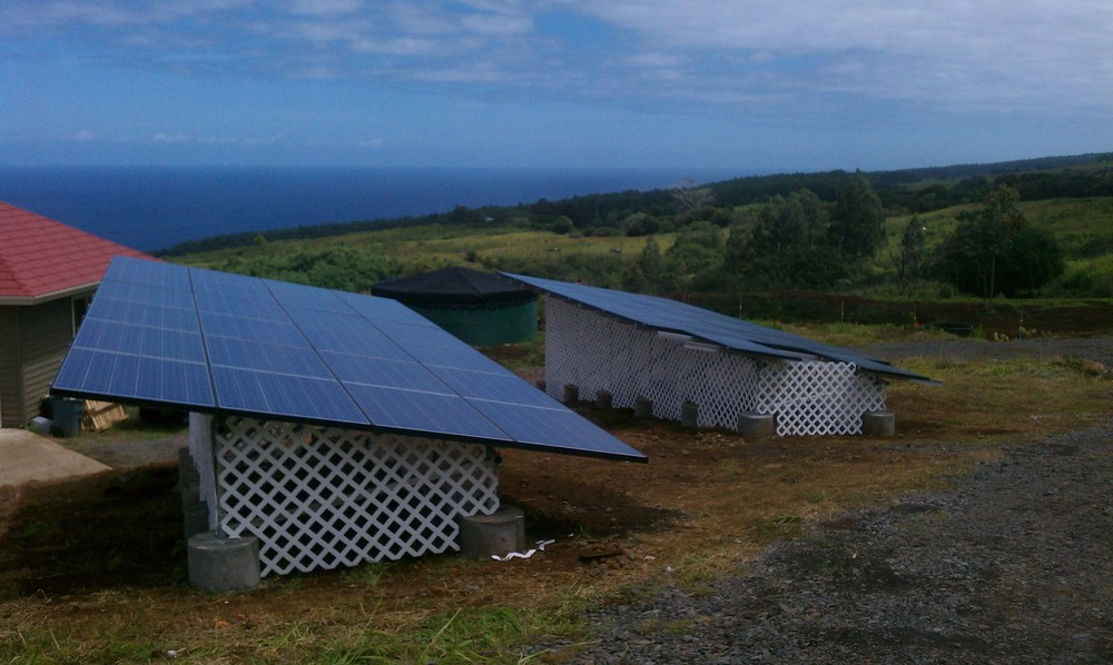 Big Island PV System Installation