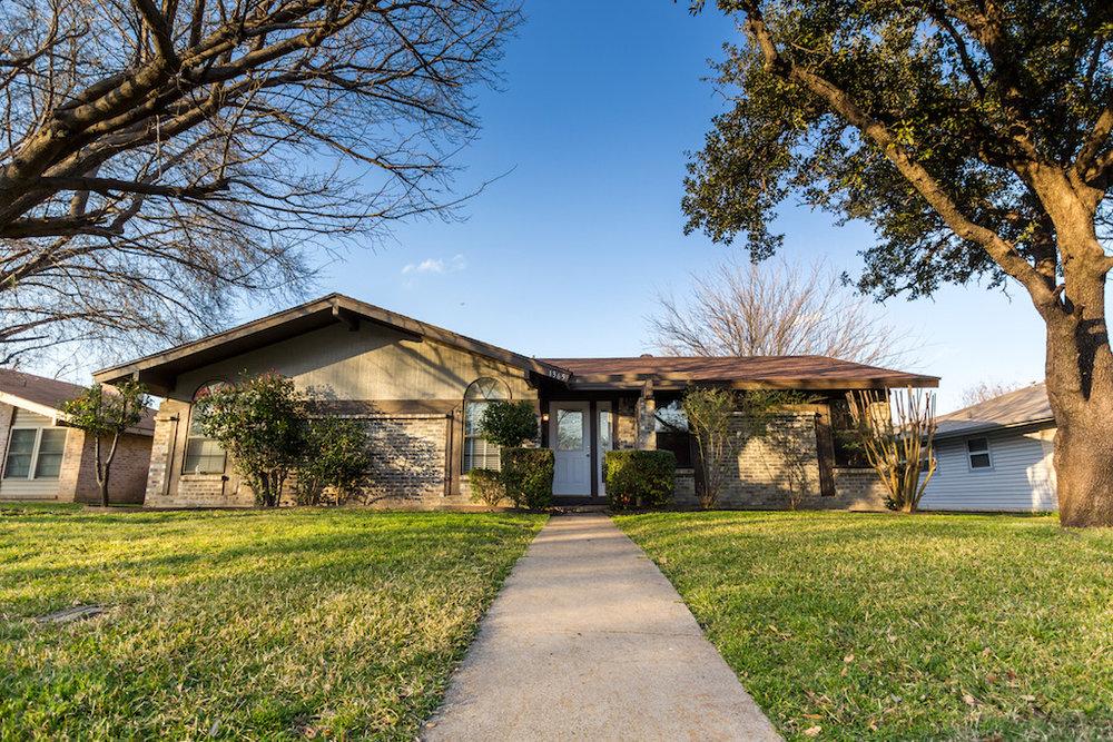 1365 Forestglen Lewisville, texas 75067 - sold