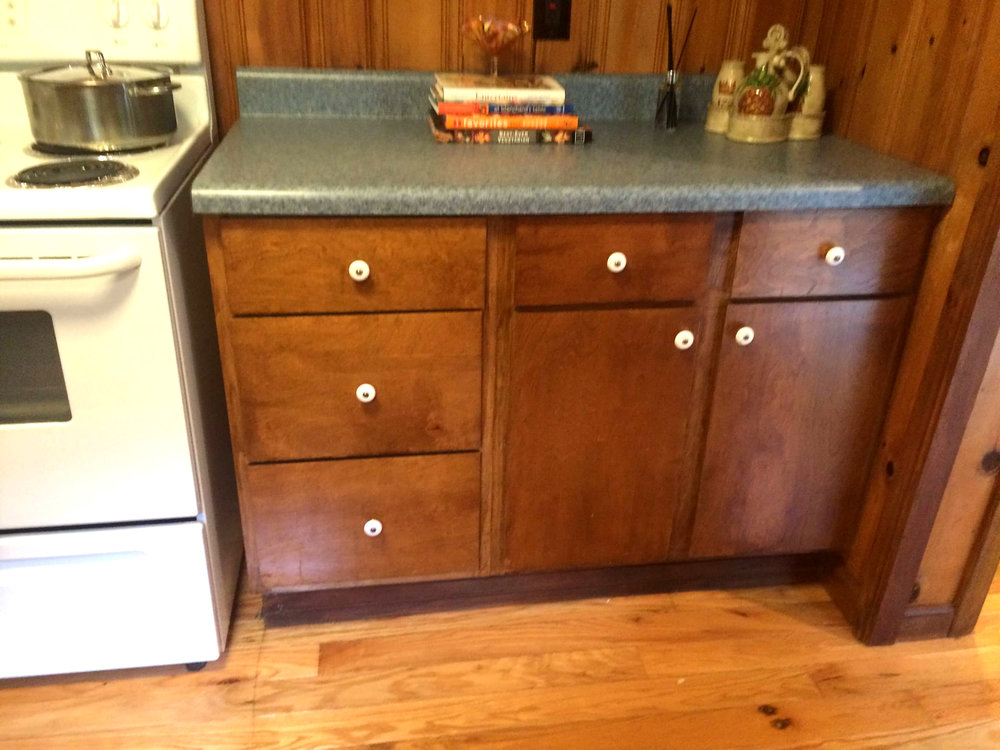 Outdated Cabinets