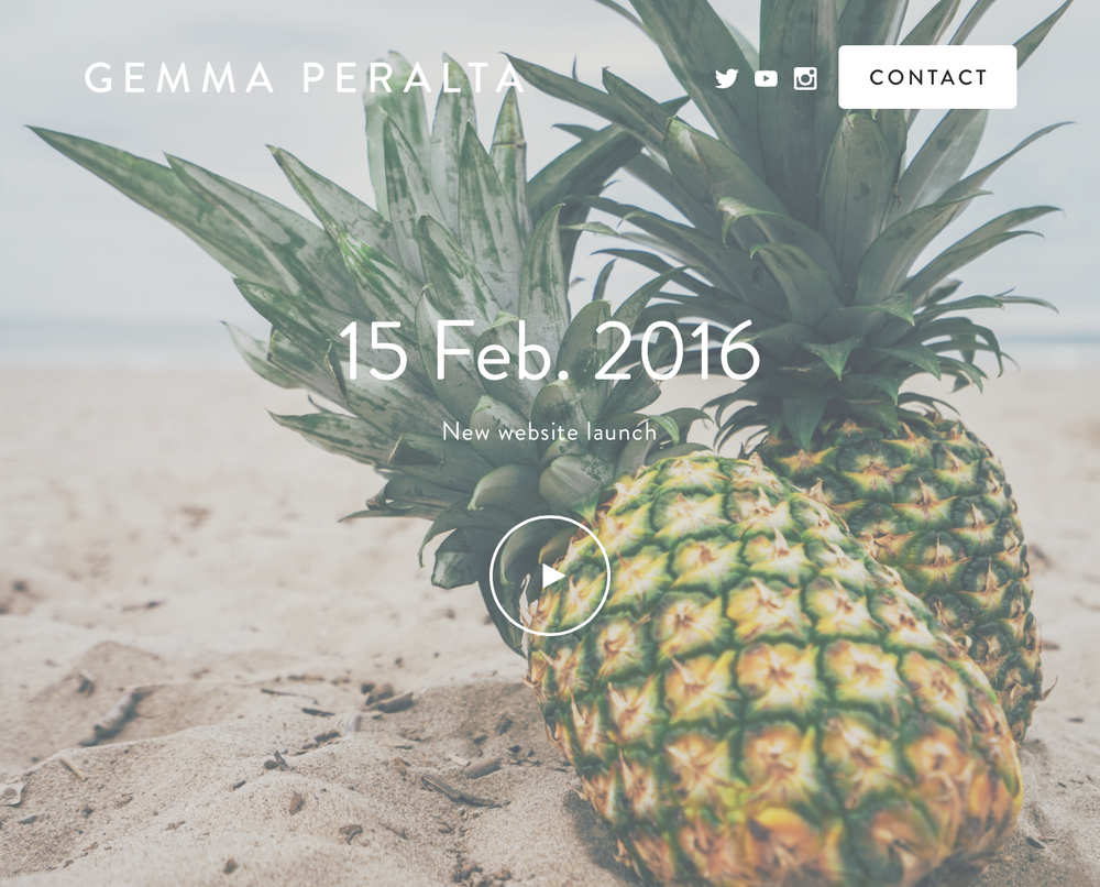 gemmaperalta.com officially launches on 15 February!