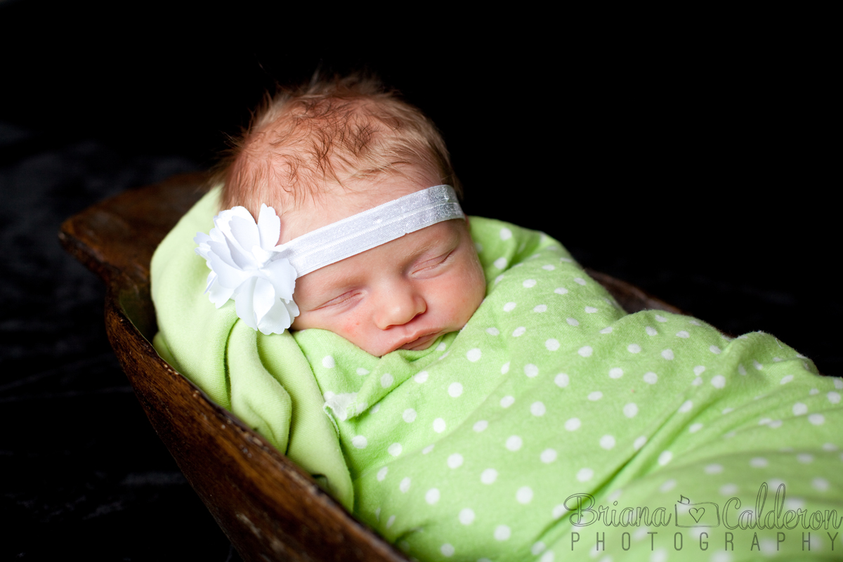 Newborn baby photography in the Bay Area, California by Briana Calderon Photography.