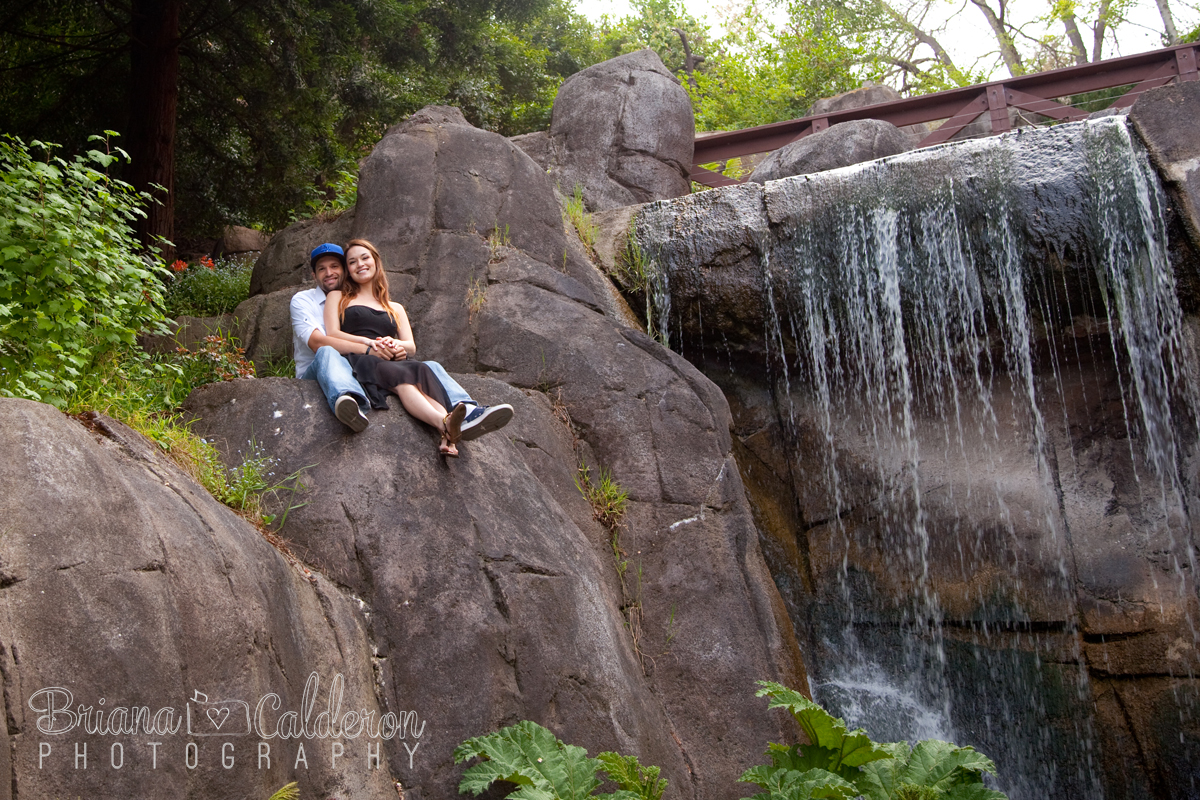 San Francisco Engagement shoot in Golden Gate Park