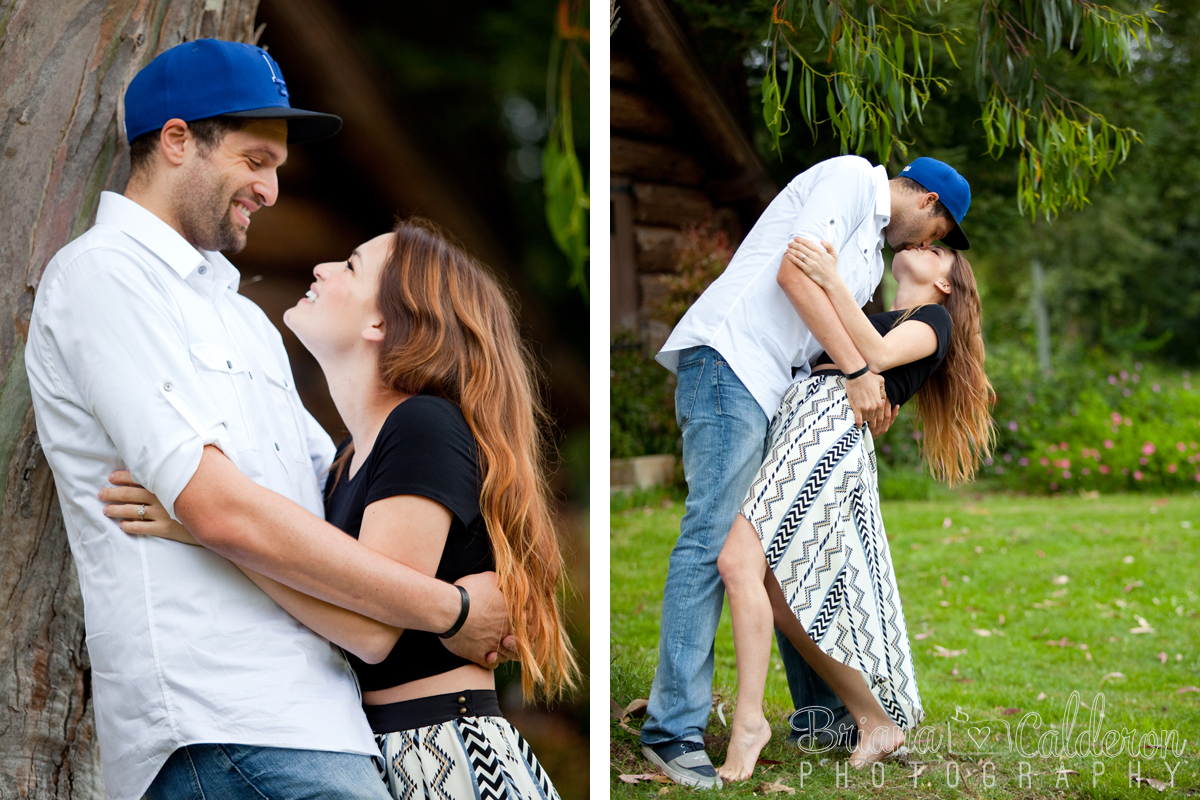 San Francisco Engagement shoot in Golden Gate Park. Bay Area wedding photography.