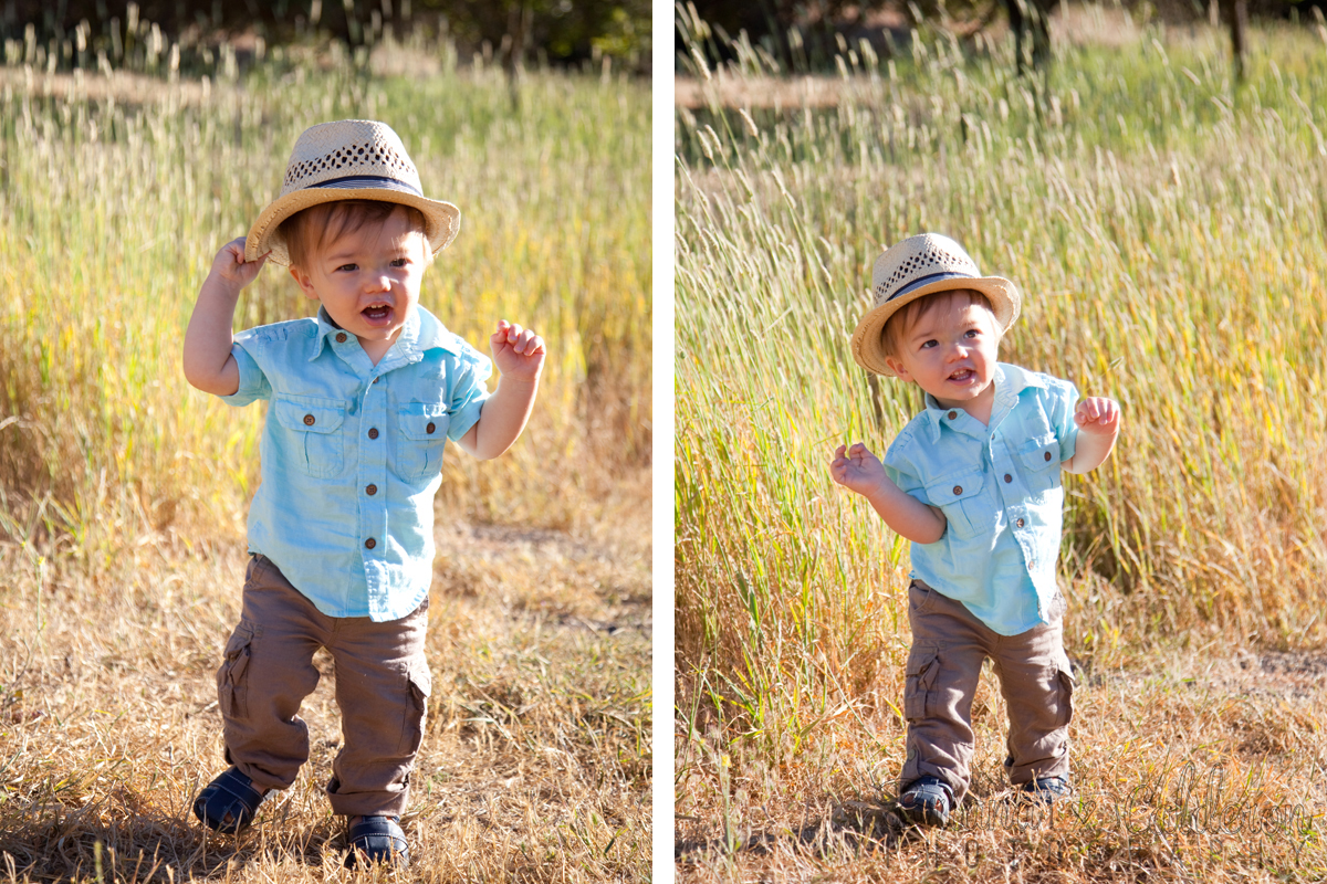 Briana Calderon Photography family portraits and one-year old photo shoot in the San Francisco Bay Area.