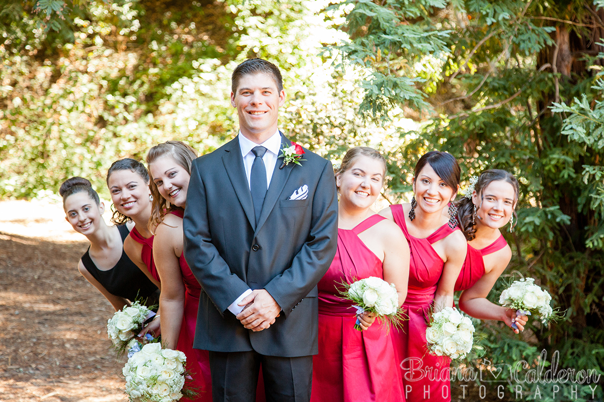 Wedding at Gateway Bible Church in Scotts Valley, California.  Photos by Briana Calderon Photography based in the San Francisco Bay Area.