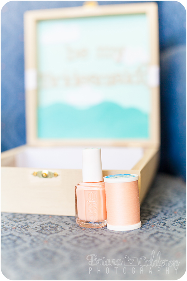 Briana Calderon Photography-Bridesmaid's gift idea