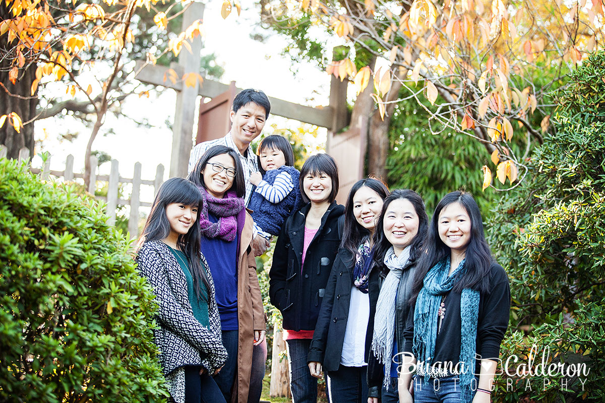 Family portraits at Golden Gate Park in San Francisco, CA.  Photos by Briana Calderon Photography based in the San Francisco Bay Area.