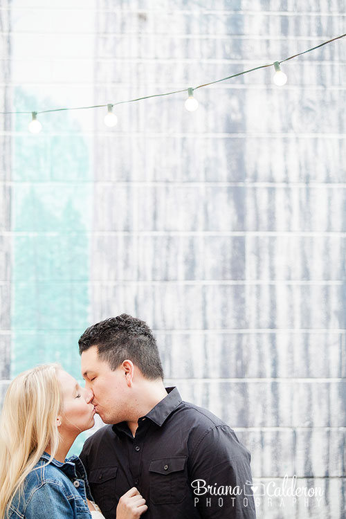 Engagement shoot in Pacifica, Ca at San Pedro Valley Park, beach and wine bar.  Photos by Briana Calderon Photography based in the San Francisco Bay Area.