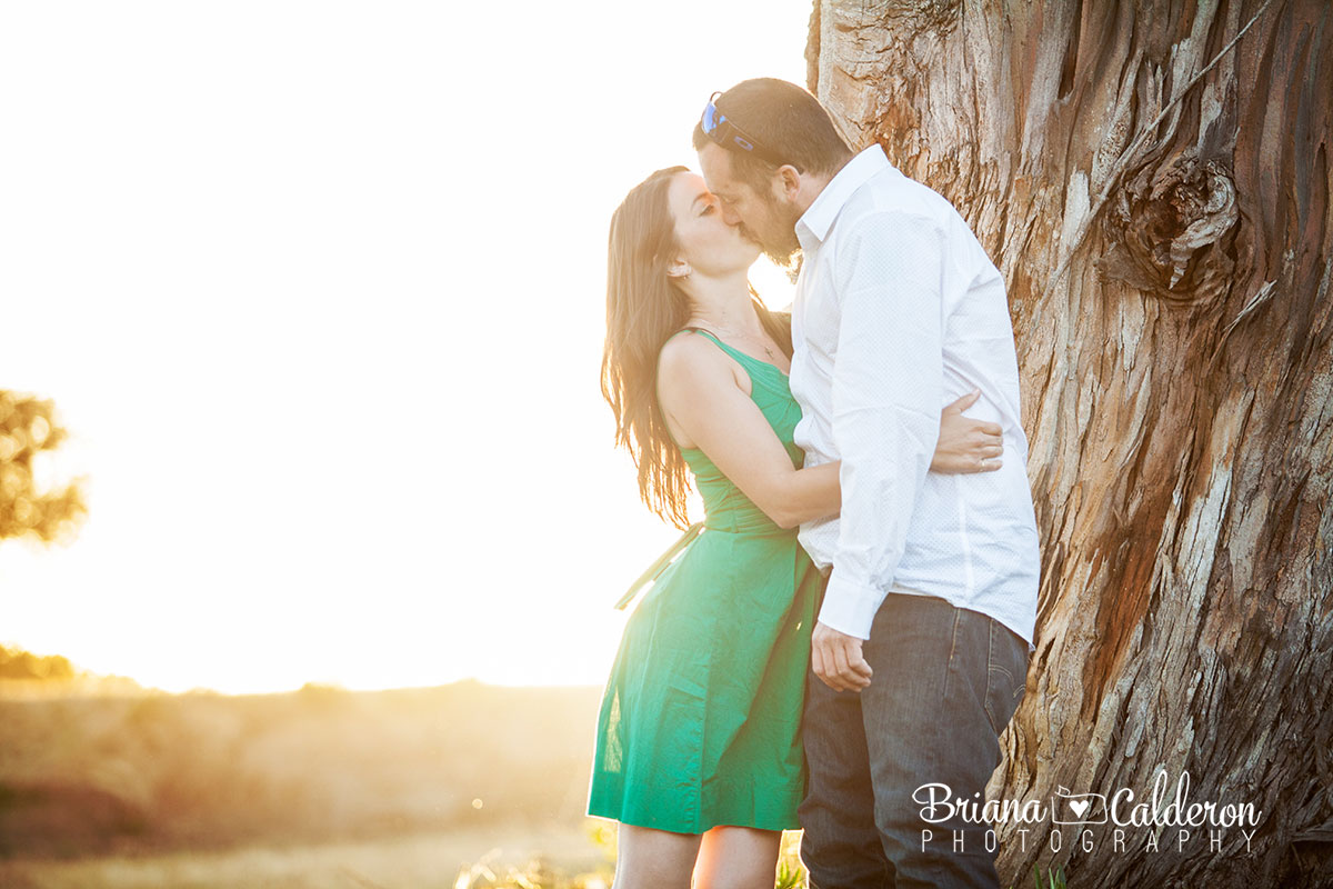 Engagement photo shoot in Watsonville, CA.  Pictures by Briana Calderon Photography based in the San Francisco Bay Area.