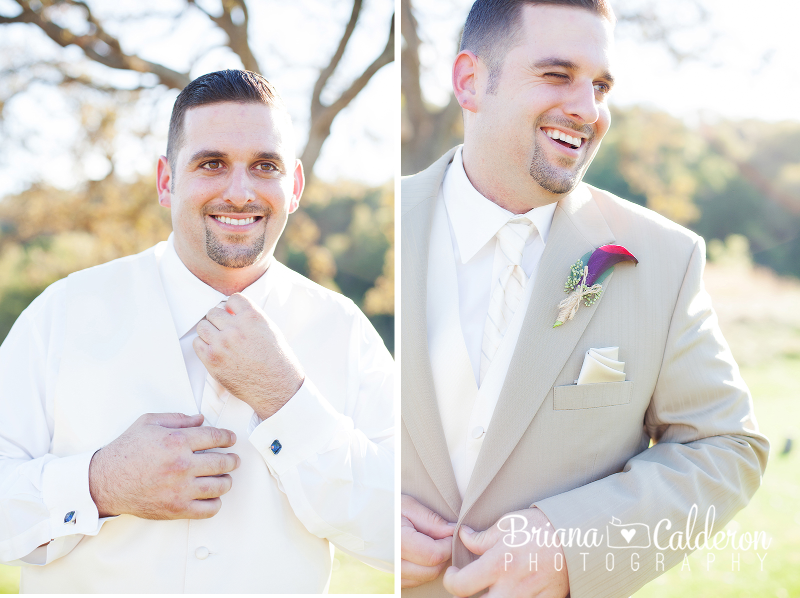 Wedding pictures from Cinnabar Hills Golf Club in San Jose, CA.  Photos by Briana Calderon Photography based in the San Francisco Bay Area.