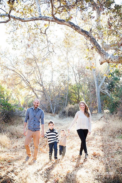 Family fall mini shoot near Alum Rock Park in San Jose, CA.  Photos by Briana Calderon Photography based in the San Francisco Bay Area.