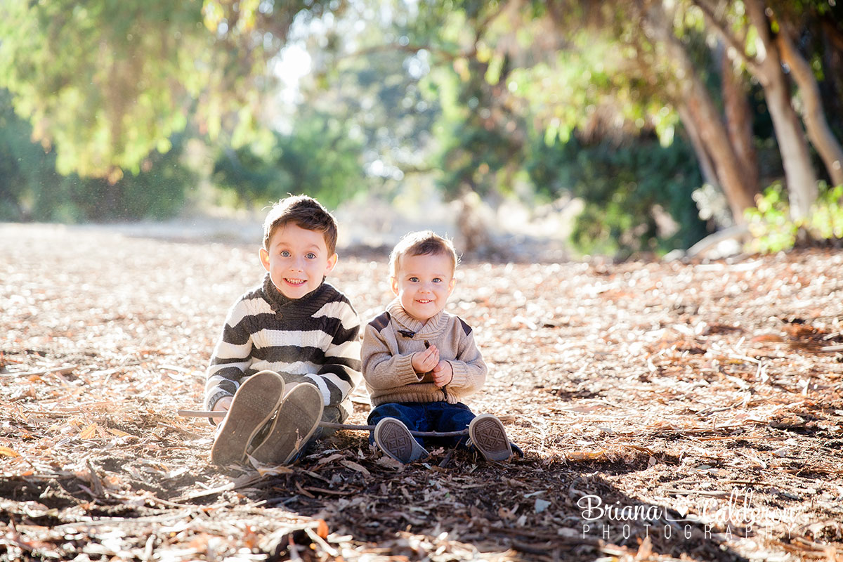 Family fall mini shoot near Alum Rock Park in San Jose, CA.  Photos by Briana Calderon Photography based in the San Francisco Bay Area.