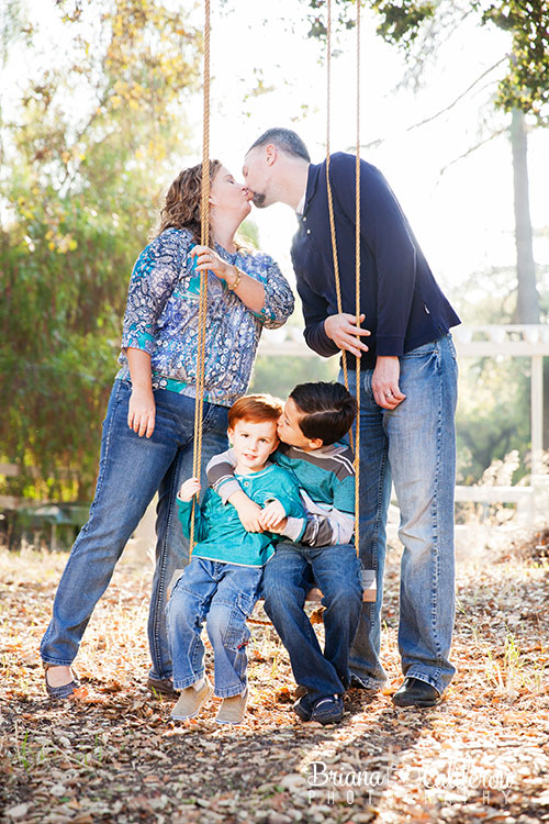 Family portrait session in San Jose, California.  Photos by Briana Calderon Photography based in the San Francisco Bay Area.