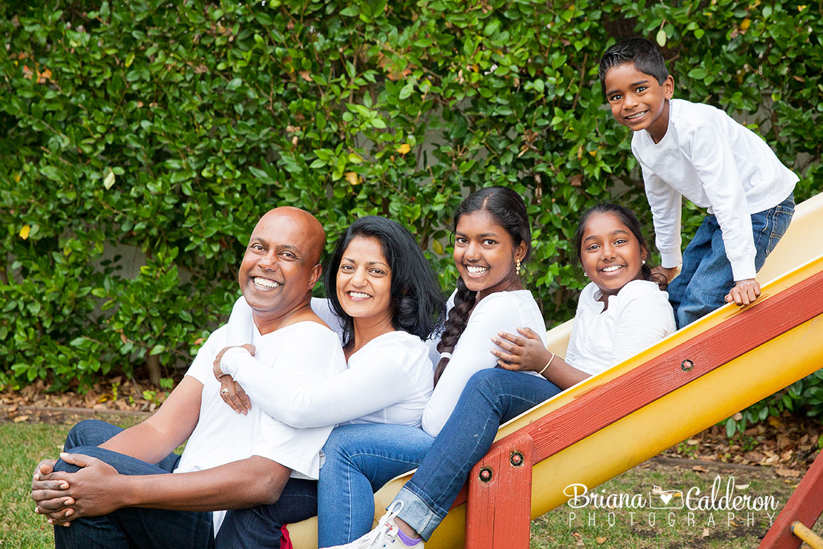 Family portrait session in Menlo Park, California.  Photos by Briana Calderon Photography based in the San Francisco Bay Area.