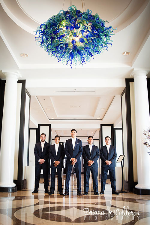 Wedding pictures at The Sofitel Hotel in Redwood City, California.  Photos by Briana Calderon Photography based in the San Francisco Bay Area.