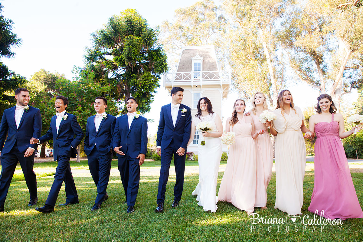 Wedding pictures at Holbrook Palmer Park in Atherton, California.  Photos by Briana Calderon Photography based in the San Francisco Bay Area.