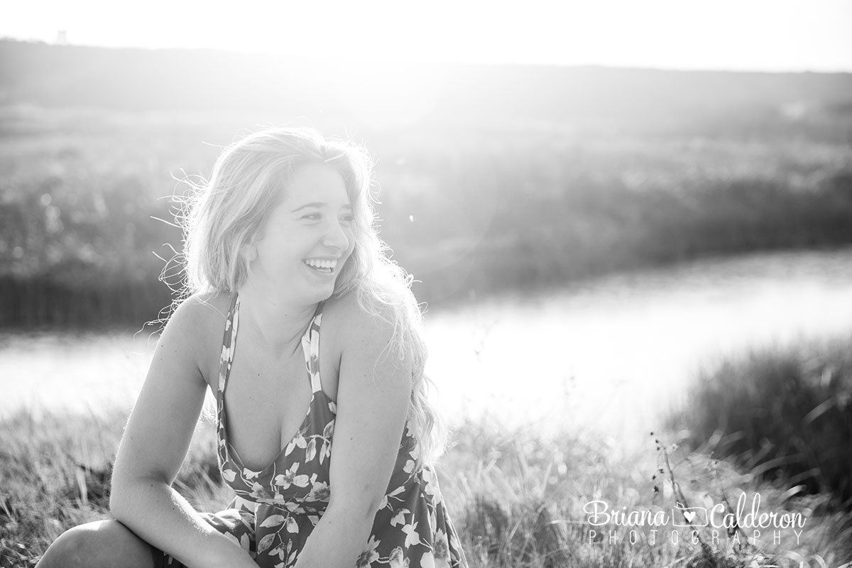 High school senior portrait shoot at Four Mile Beach in Santa Cruz, California. Photos by Briana Calderon Photography based in the San Francisco Bay Area , CA.