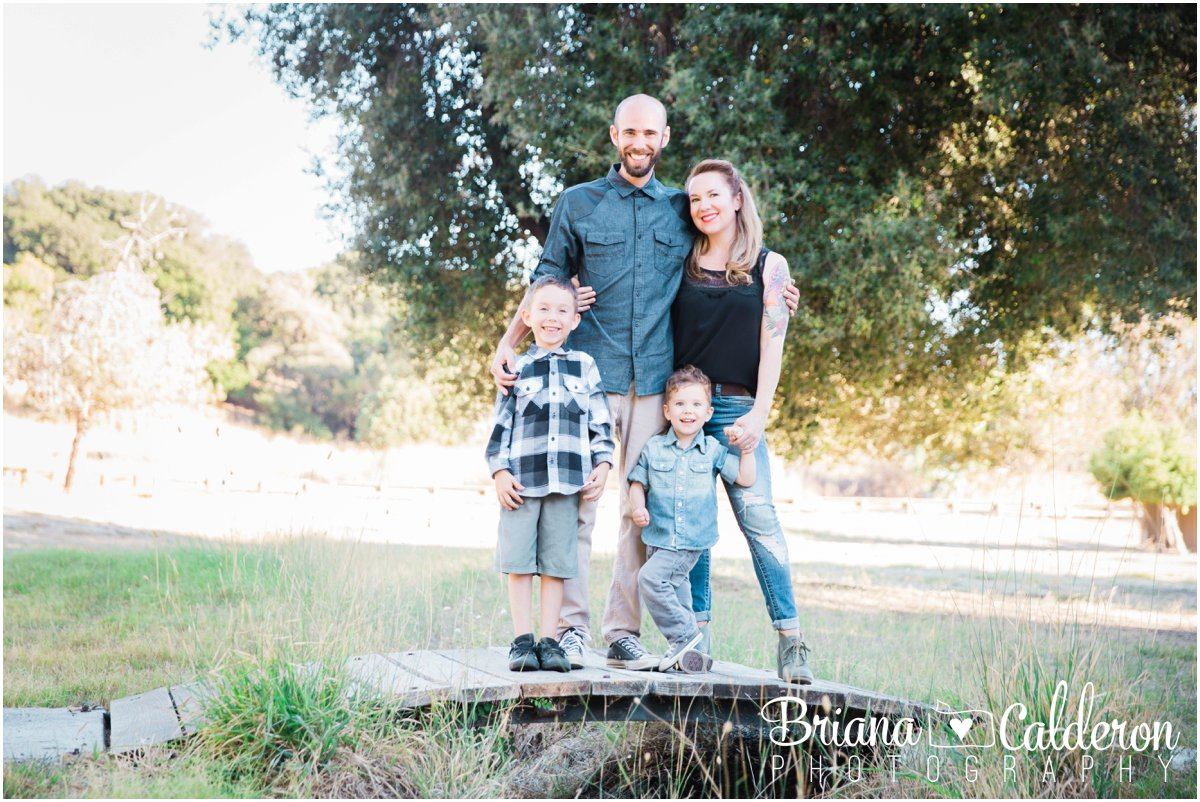 Mini family portrait session at Spring Valley Pond in Milpitas, CA. Photos by Briana Calderon Photography based in the San Francisco Bay Area California.