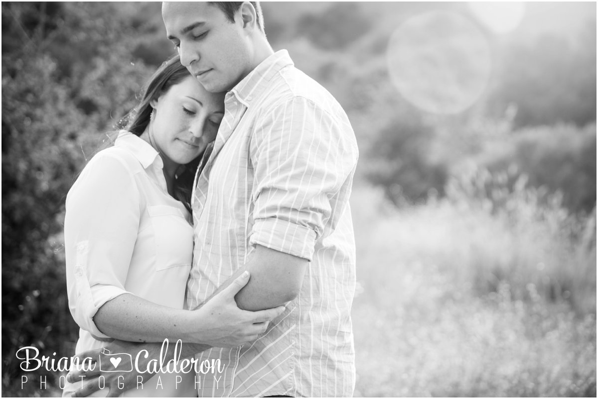 Engagement shoot at Picchetti Winery in Cupertino, CA. Photos by Briana Calderon Photography based in the San Francisco Bay Area.