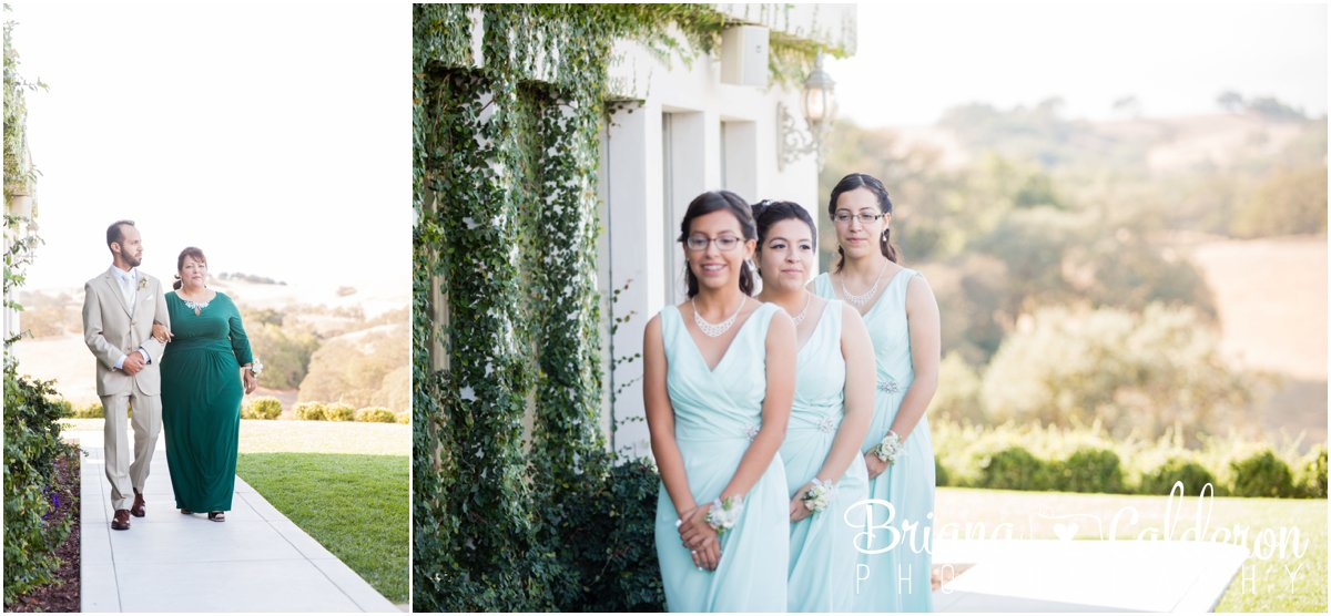 Wedding photography at Willow Heights Mansion in Morgan Hill, CA. Photos by Briana Calderon Photography based in the San Francisco Bay Area, California.