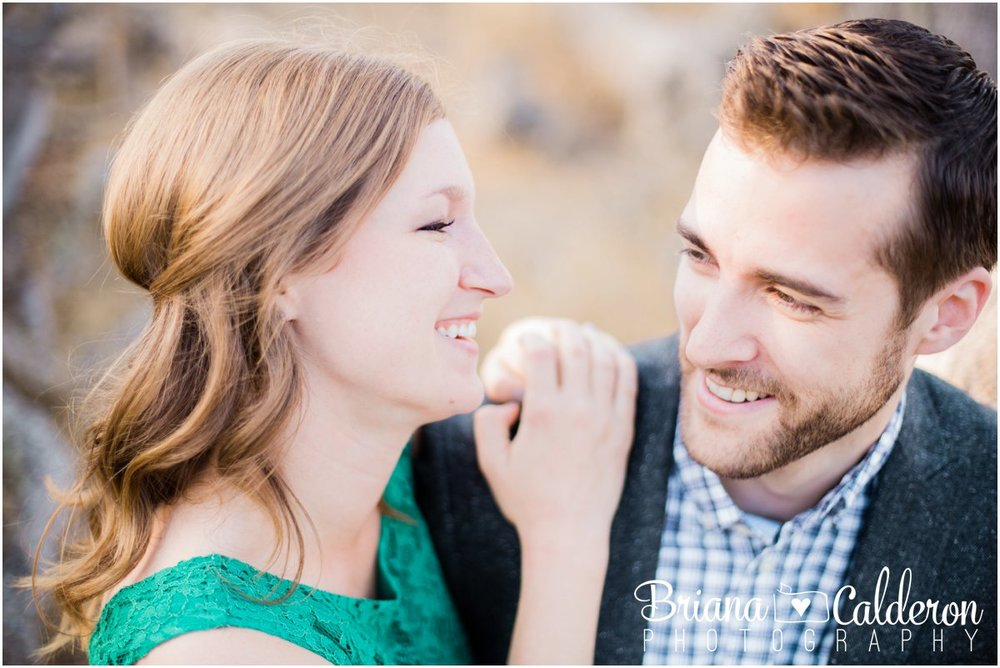 Engagement shoot at Rancho San Antonio in Cupertino, CA. Photos by Briana Calderon Photography based in the San Francisco Bay Area California.
