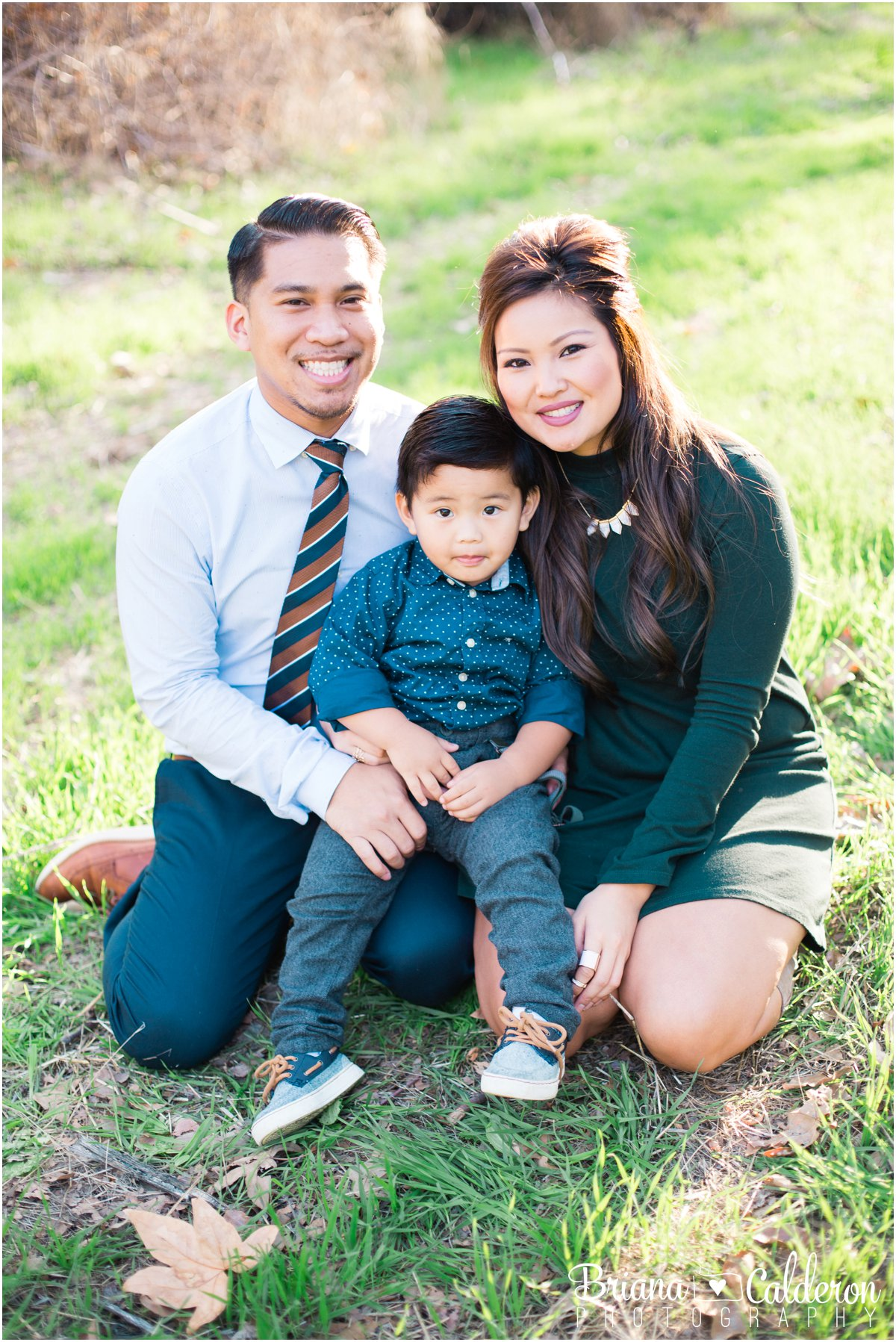 Fall family mini session in San Jose, CA outside of Alum Rock Park. Photos by Briana Calderon Photography based in the San Francisco Bay Area in California.