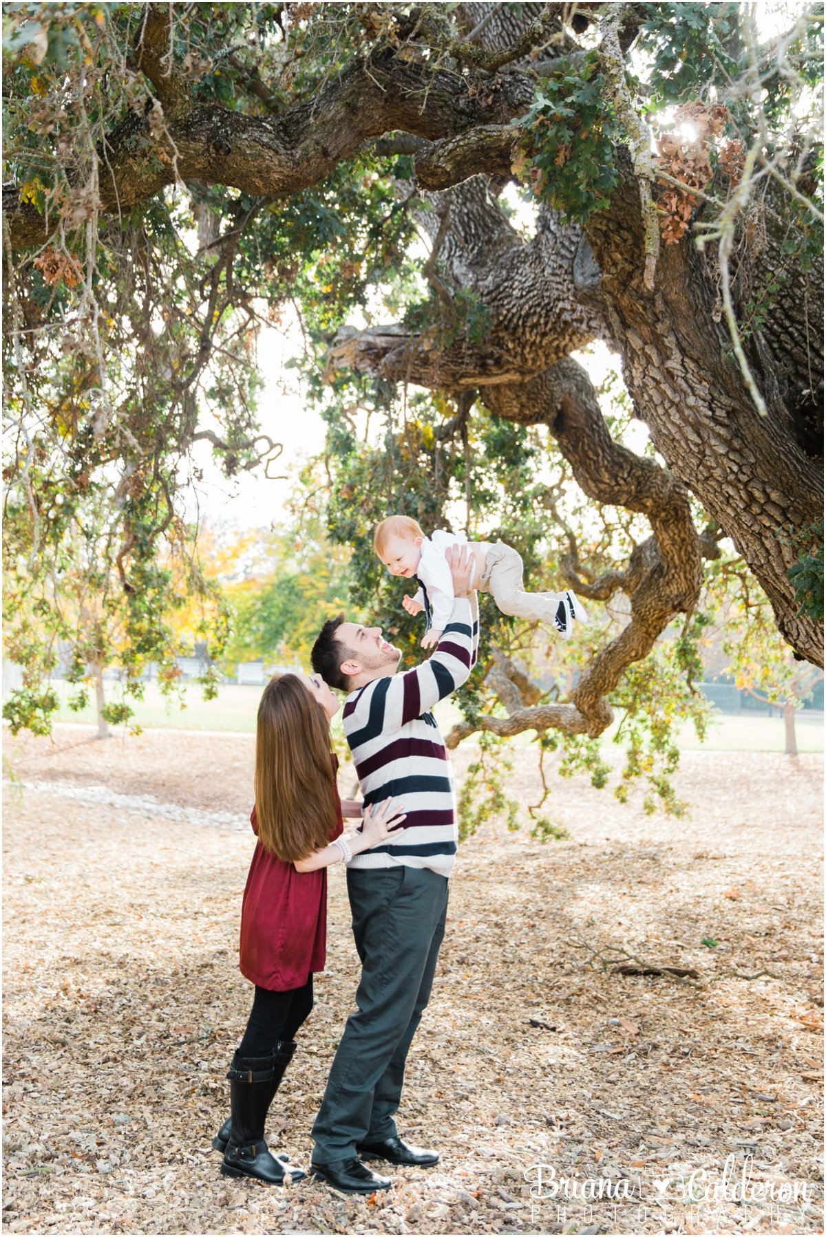 Family mini shoot at Holbrook Palmer Park in Atherton, CA. Photos by Briana Calderon Photography based in the San Francisco Bay Area in California.