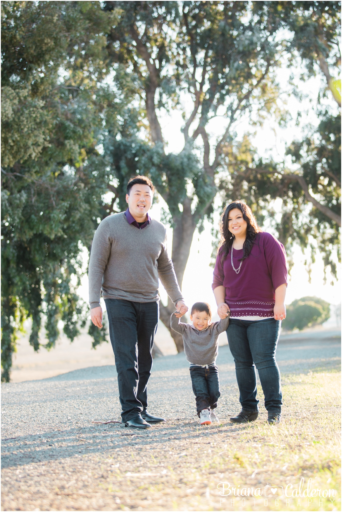 Family photo shoot in Fremont, CA. Photos by Briana Calderon Photography based in the San Francisco Bay Area in California.