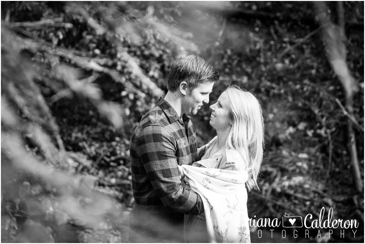 Engagement shoot at Saratoga Springs in Saratoga, CA. Photos by Briana Calderon Photography based in the San Francisco Bay Area California.