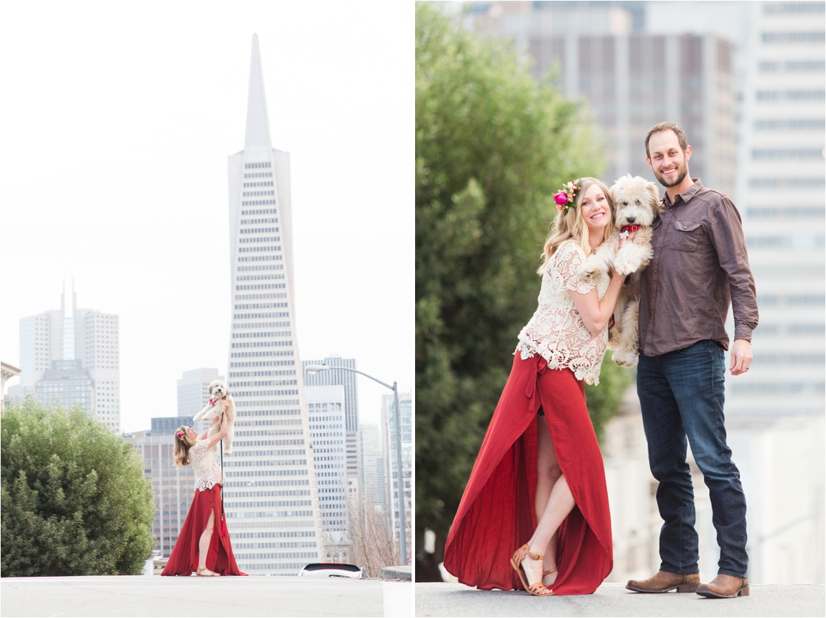 Maternity shoot at Fort Point in San Francisco, CA. Photos by Briana Calderon Photography based in the SF Bay Area.
