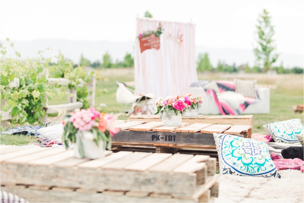 ... CA Bohemian Baby Shower And Maternity Portrait Shoot At Martial Cottle  Park In San Jose, ...