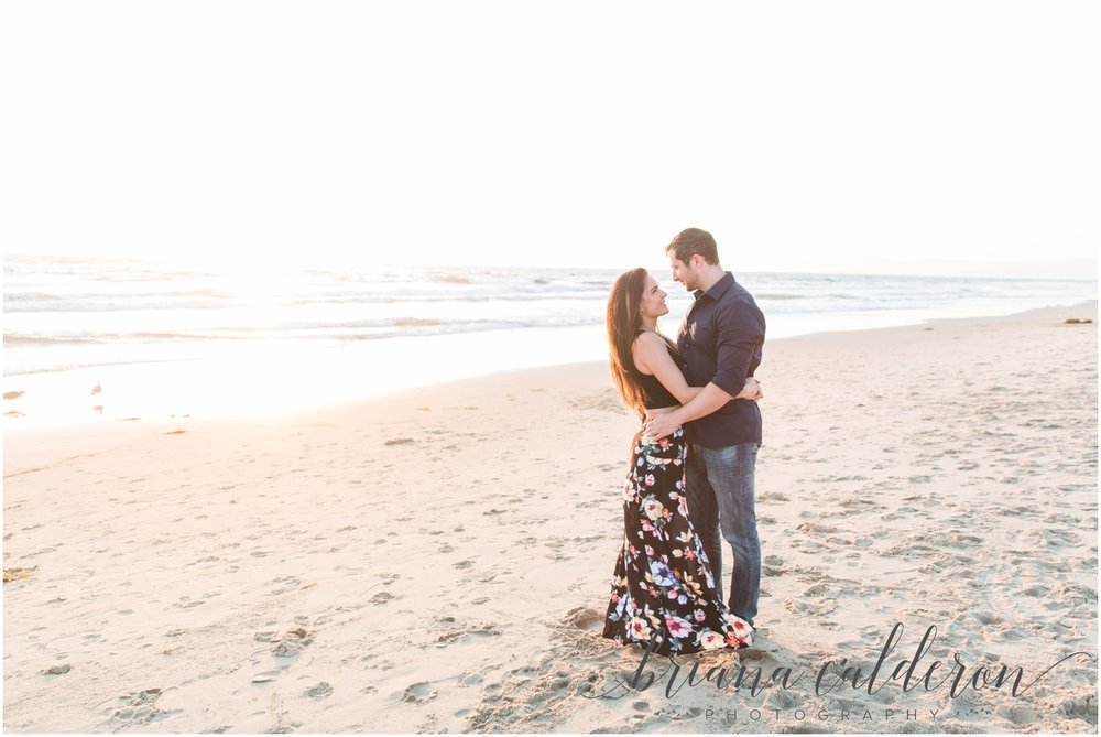 LA Beach Engagement Photos by Briana Calderon Photography_0813.jpg