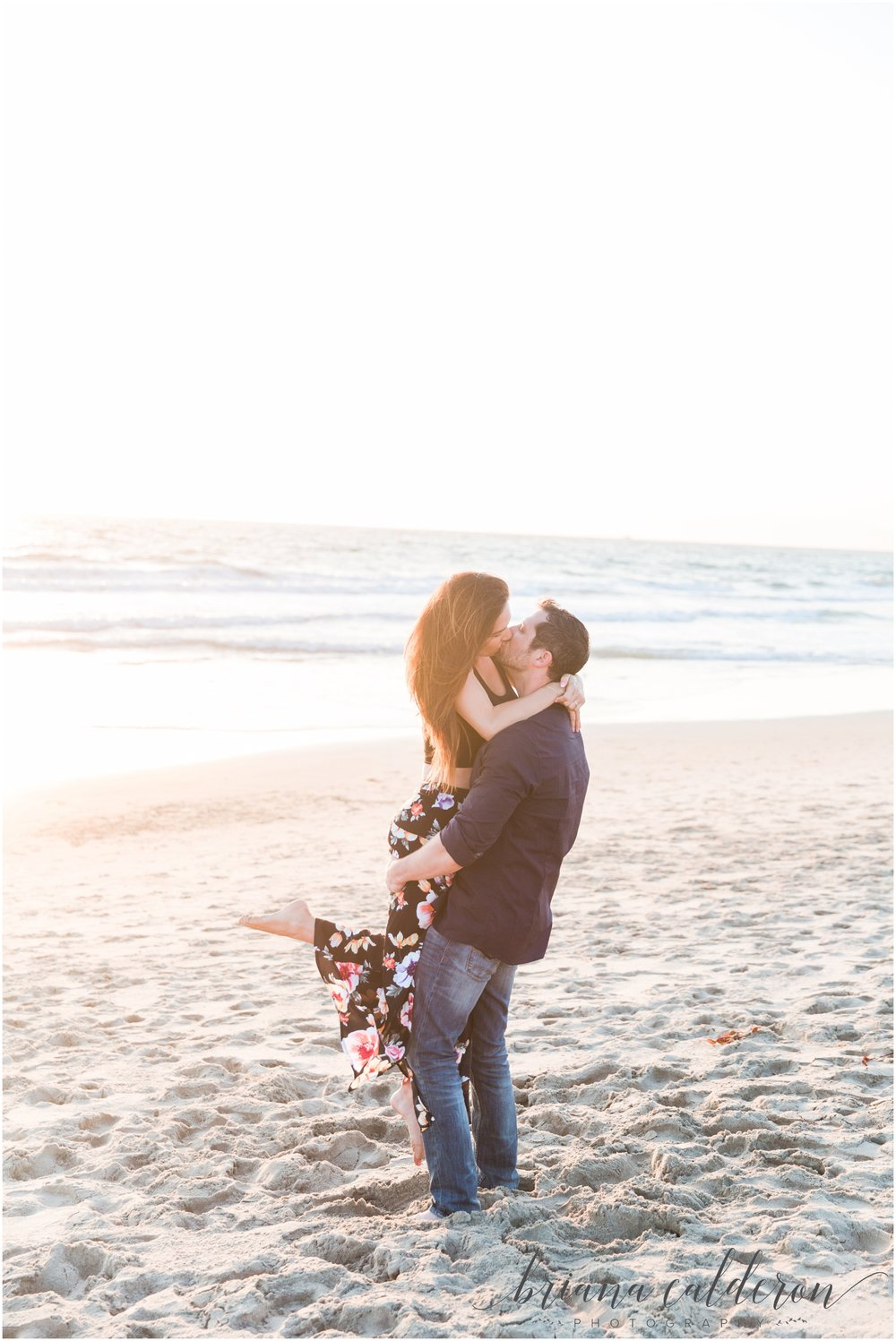 LA Beach Engagement Photos by Briana Calderon Photography_0812.jpg