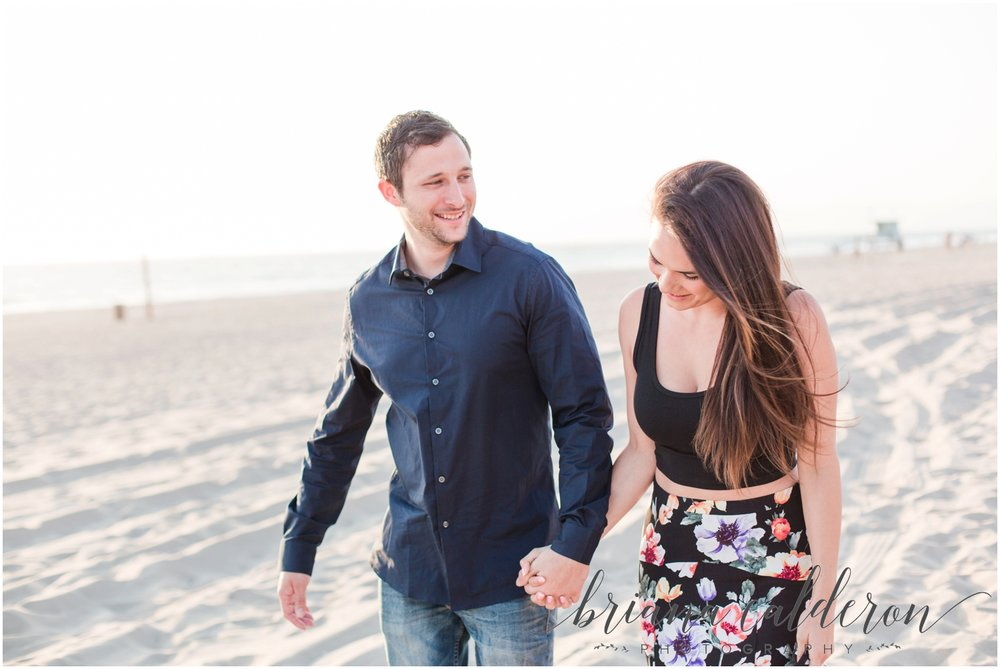 LA Beach Engagement Photos by Briana Calderon Photography_0808.jpg