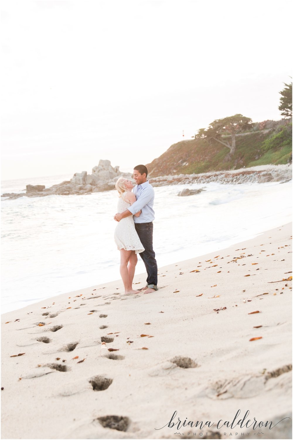 Carmel beach engagement pictures by Briana Calderon Photography_1171.jpg