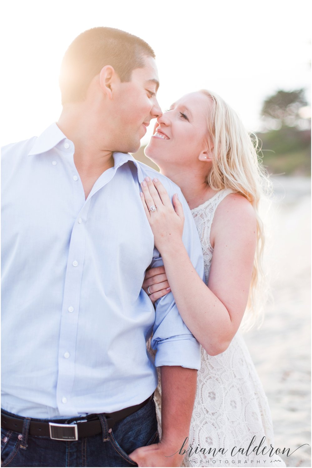 Carmel beach engagement pictures by Briana Calderon Photography_1168.jpg