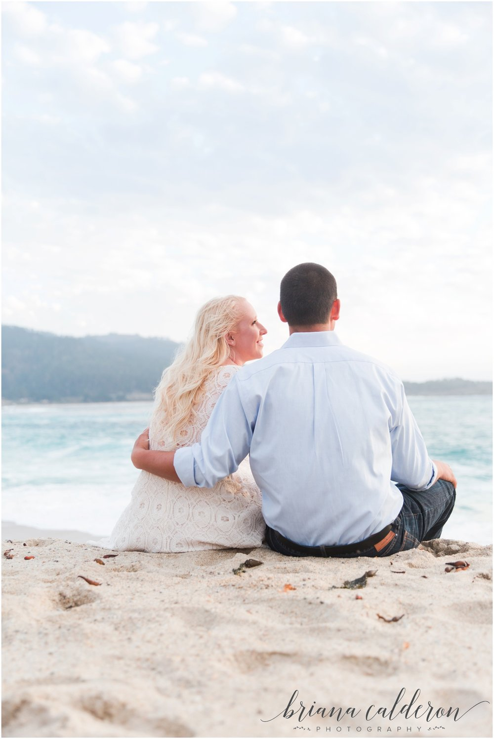 Carmel beach engagement pictures by Briana Calderon Photography_1166.jpg