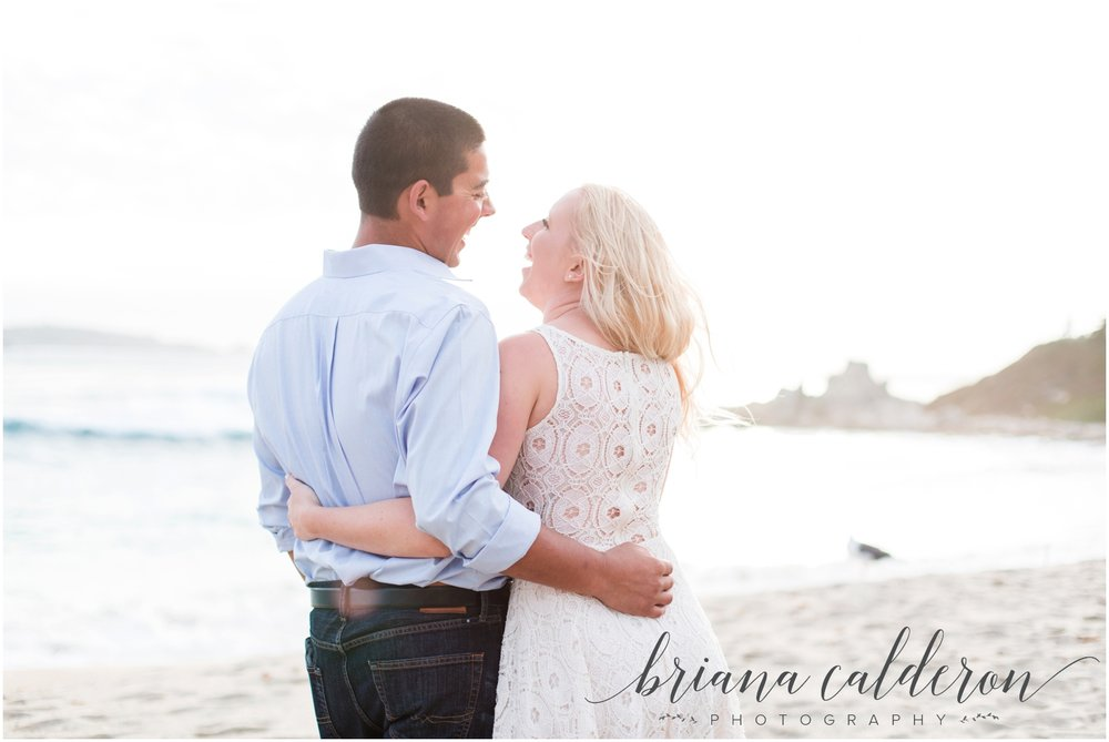 Carmel beach engagement pictures by Briana Calderon Photography_1161.jpg